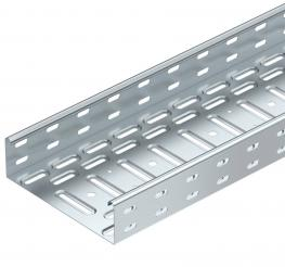 Cable trays, screw connection
