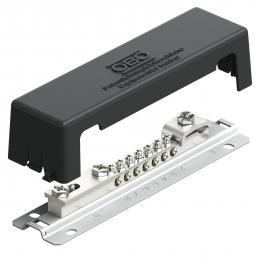 Equipotential busbar for outside installation