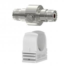 Coaxial protection devices for S-UHF connection: female/female