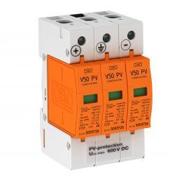 PV combination arrester V50, 600 V DC