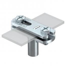 Cable bracket for flat conductors