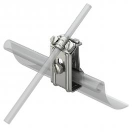 Gutter clamp for all bead thicknesses A2