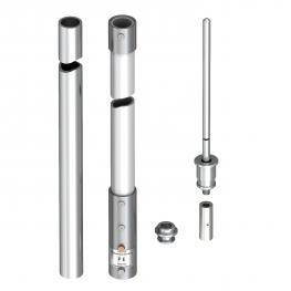 isFang, insulated air-termination rod for inner-routed isCon® conductor Professional Plus