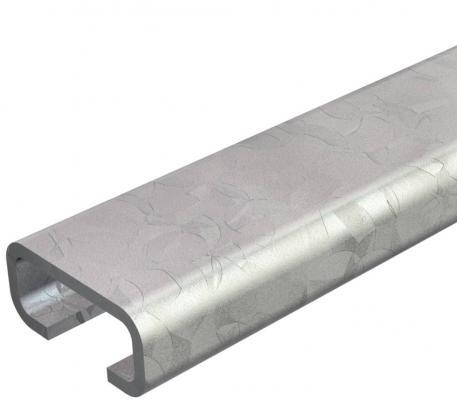 Profile rail CL2712, slot 12 mm, unperforated