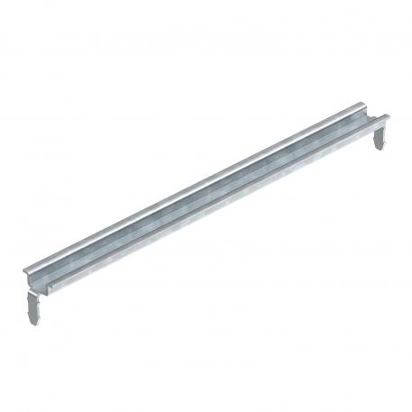 Hat profile rail 15 x 5 mm