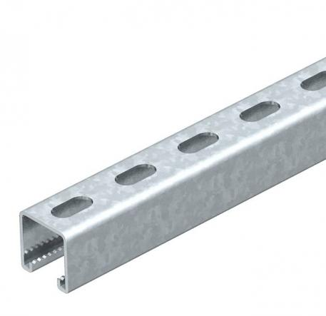 Mounting rail, MSL4141, slot 22 mm, FS, perforated