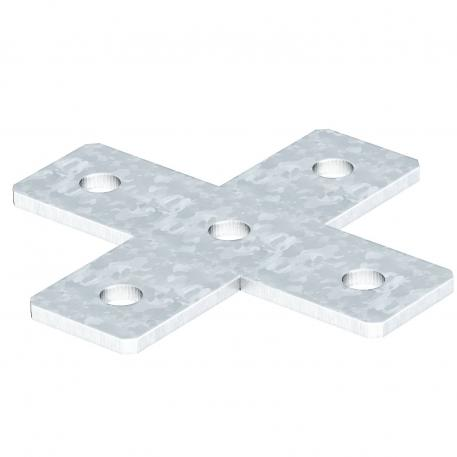 Connection plate, X-shaped FT