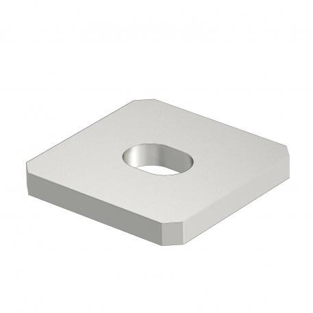 Connection plate with 1 hole A2