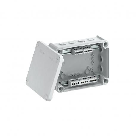 Junction box T 160, plug-in seal, terminal strip