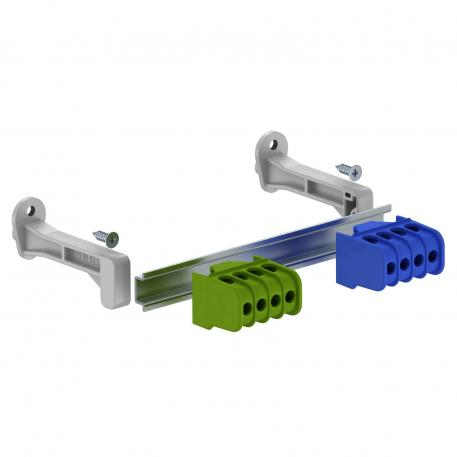 Terminal strip set with screw terminals for SDB 03