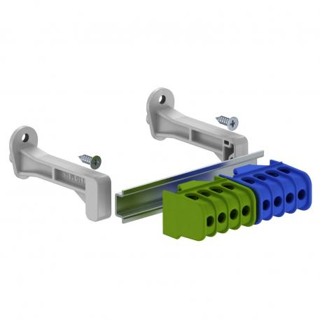 Terminal strip set with screw terminals for SDB 05