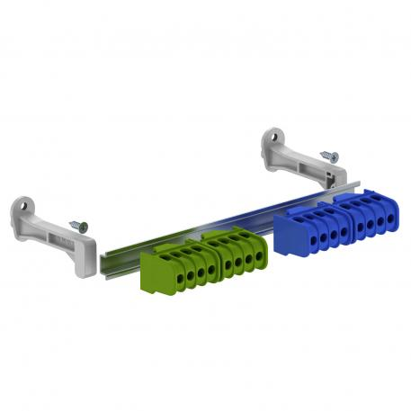 Terminal strip set with screw terminals for SDB 09