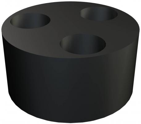 Multi-way seal insert, metric