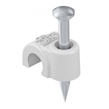 ISO nail clip 2012, light grey