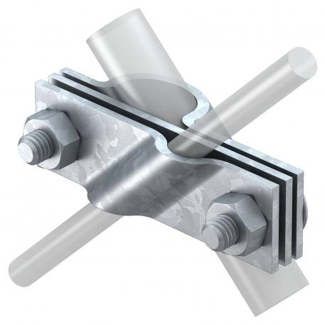 Connection clamp for earth rod, universal FT