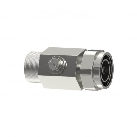 Coaxial protection device for 7/16 connection: male/female