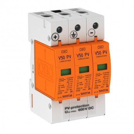 PV combination arrestor V50, 600 V DC