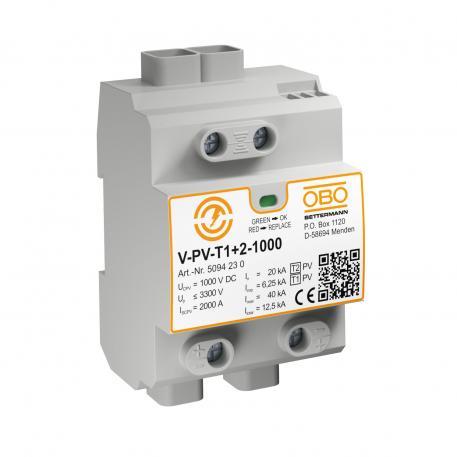 PV complete block 1000 V DC