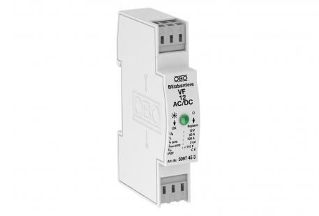 MCR protection for 2-pole for power supply, 110 V