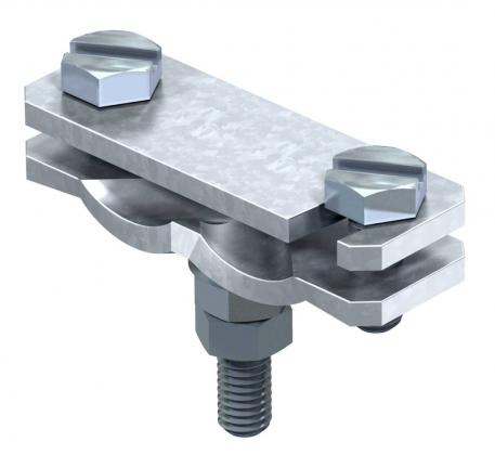 Diagonal clamp with bolt FT