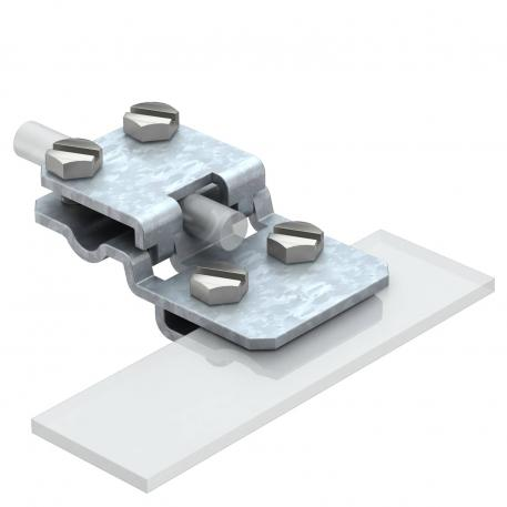 Folding clamp and connection terminal up to 10 mm plate thickness FT