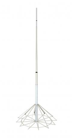 19 m air-termination rod with 12-legged air-termination rod stand