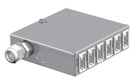 UVS energy distributor with fixed connection, special circuit
