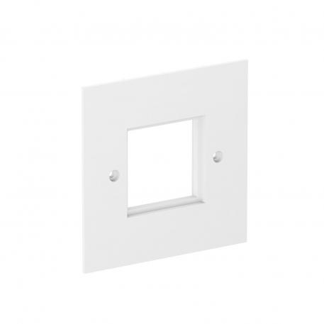 VH cover plate, for Modul 45 devices, single