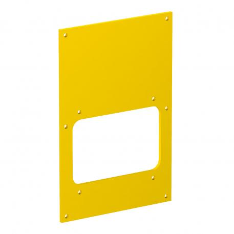 Cover plate VHF for protective equipment installation
