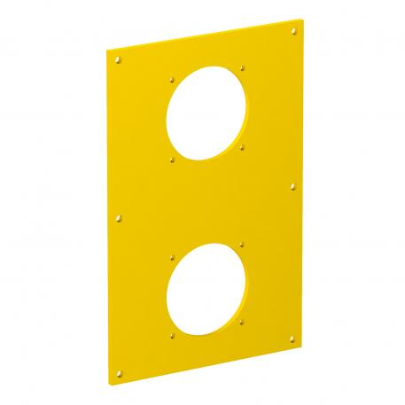 VHF cover plate, for 2x surface-mounted socket, type ASD