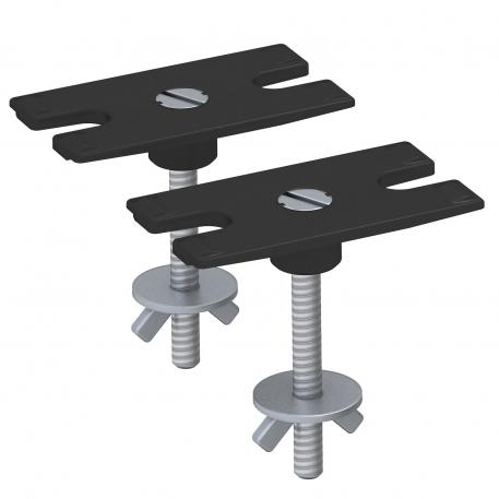 Fastening set for table mounting, for DB Deskbox