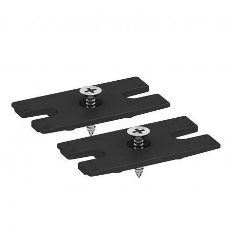 Fastening set for under-table mounting, for DB Deskbox