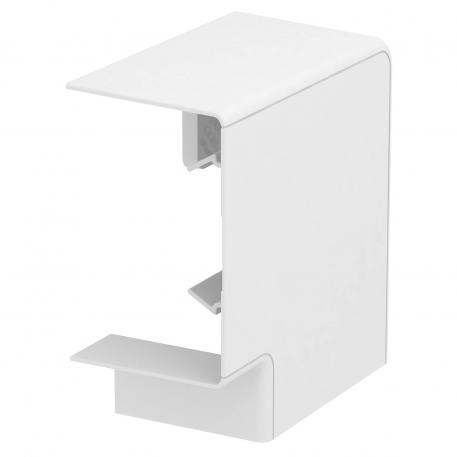 Flat angle cover, trunking height 70 mm