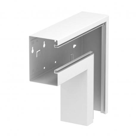 Flat angle, falling, trunking height 90 mm