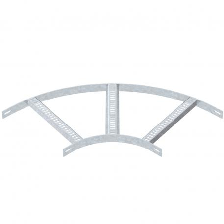 90° bend with trapezoidal rung, FT