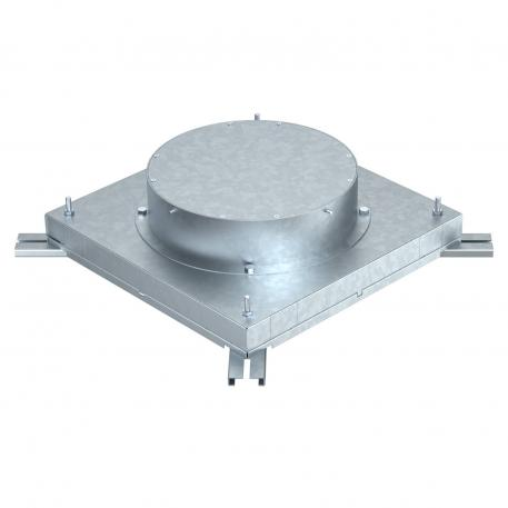 In-concrete socket for installation units of nominal size R9