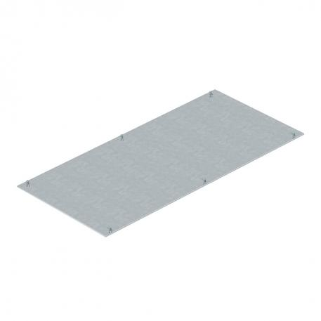 Mounting lid, blank, 800 mm