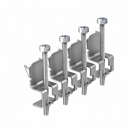 Universal fastening bracket for 4 fastening points
