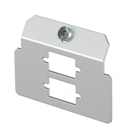 Support plate 2 x type D for mounting support