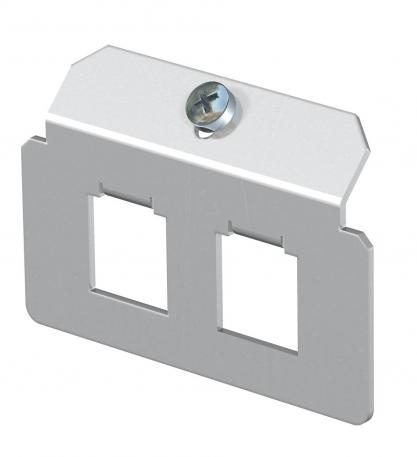 Support plate 2 x type F for mounting support