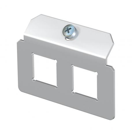 Support plate 2 x type LE for mounting support
