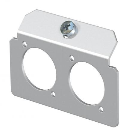 Support plate 2 x type K for mounting support