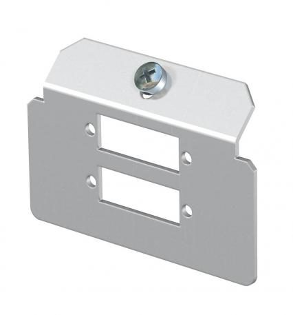 Support plate 2 x type L for mounting support