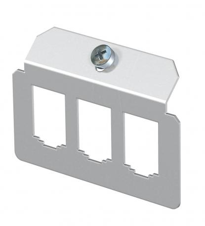 Support plate 3 x type B for mounting support