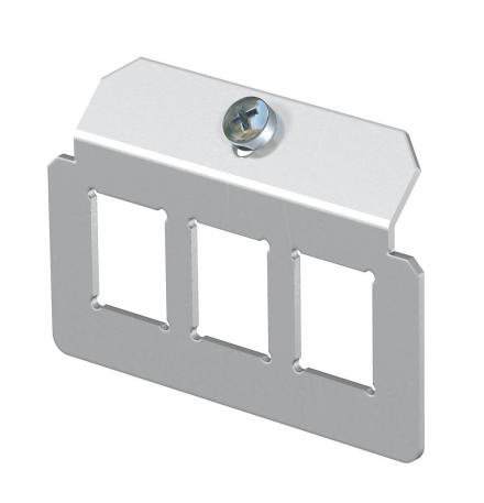 Support plate 3 x type C for mounting support