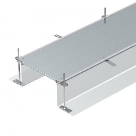 Trunking unit, blank, height 40−240 mm